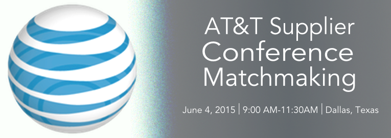 AT&T Supplier Conference Matchmaking